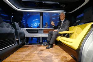 Is Vw S New Sedric A Driverless Car Or A Lounge On