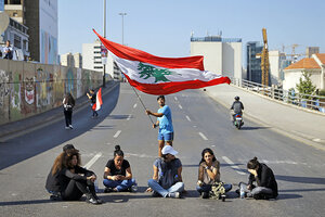 In Lebanon. can young protesters sway entrenched political elite? - CSMonitor.com