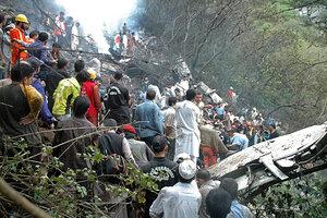Pakistan Plane Carrying 152 Crashes Near Islamabad No