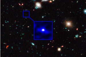 Oldest Galaxy Hubble Telescope Detects Farthest Oldest
