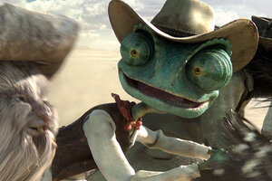 Johnny Depp stars in 'Rango,' as a chameleon: movie review - CSMonitor.com