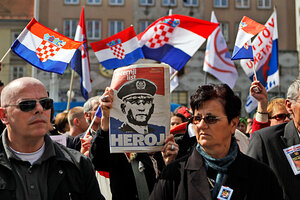 former croatian general seen