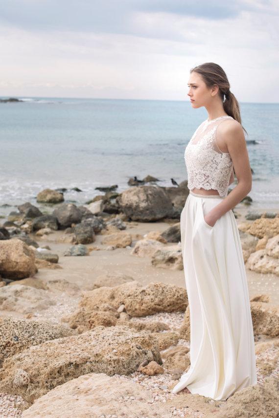 Brautkleider Zweiteilig