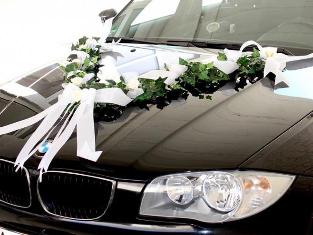Moderne Deko fr den Hochzeitskonvoi