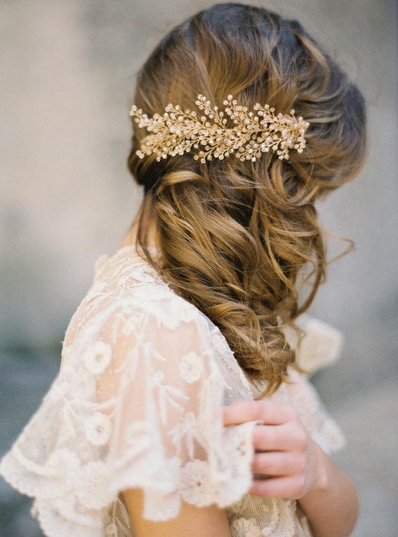 Hochzeitsfrisur Haare Offen