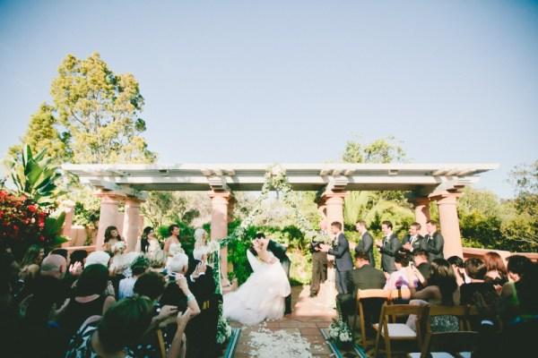Der Hochzeitskuss  ein schner Brauch