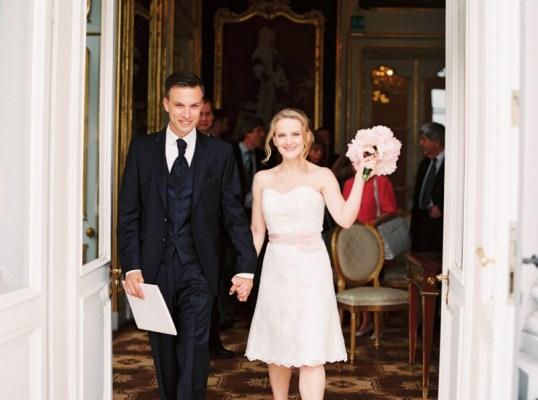Standesamtliche Hochzeit in Wien  Connie und Danny