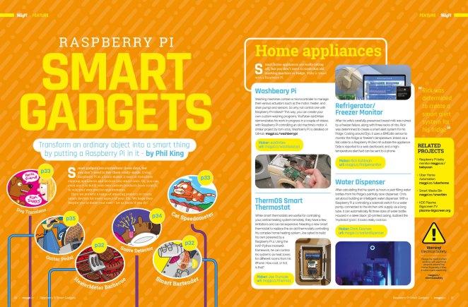 Raspberry Pi Smart Gadgets