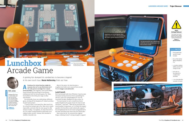Lunchbox Arcade Game