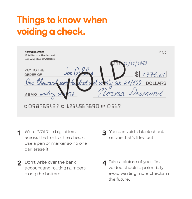 How to Void a Check  Policygenius