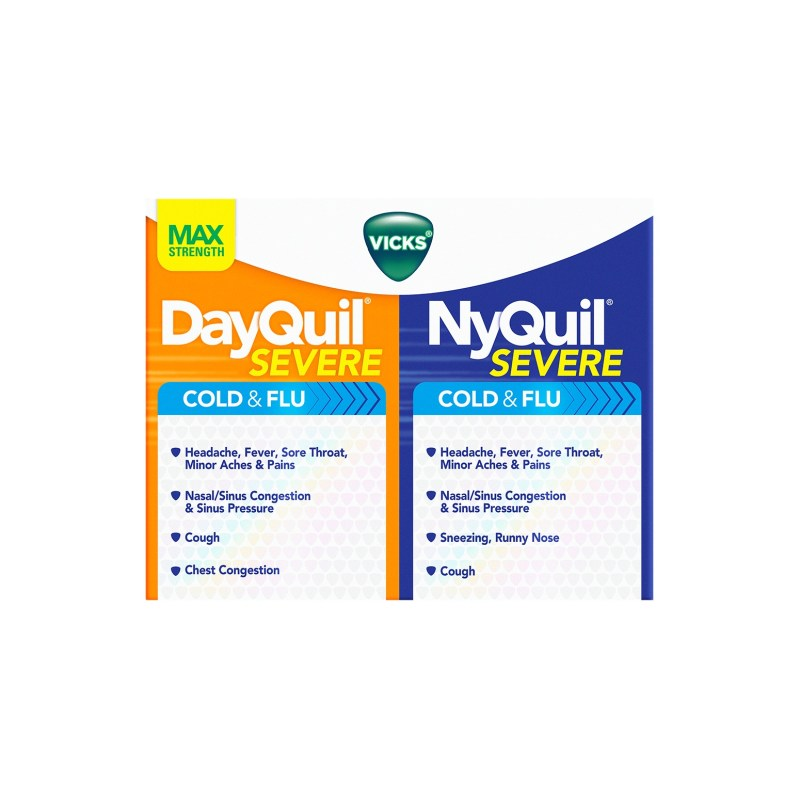nyquil dayquil severe cold