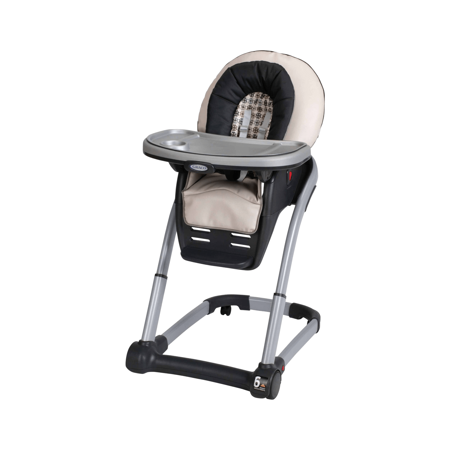 graco high chair blossom oak rocking runners babylist store