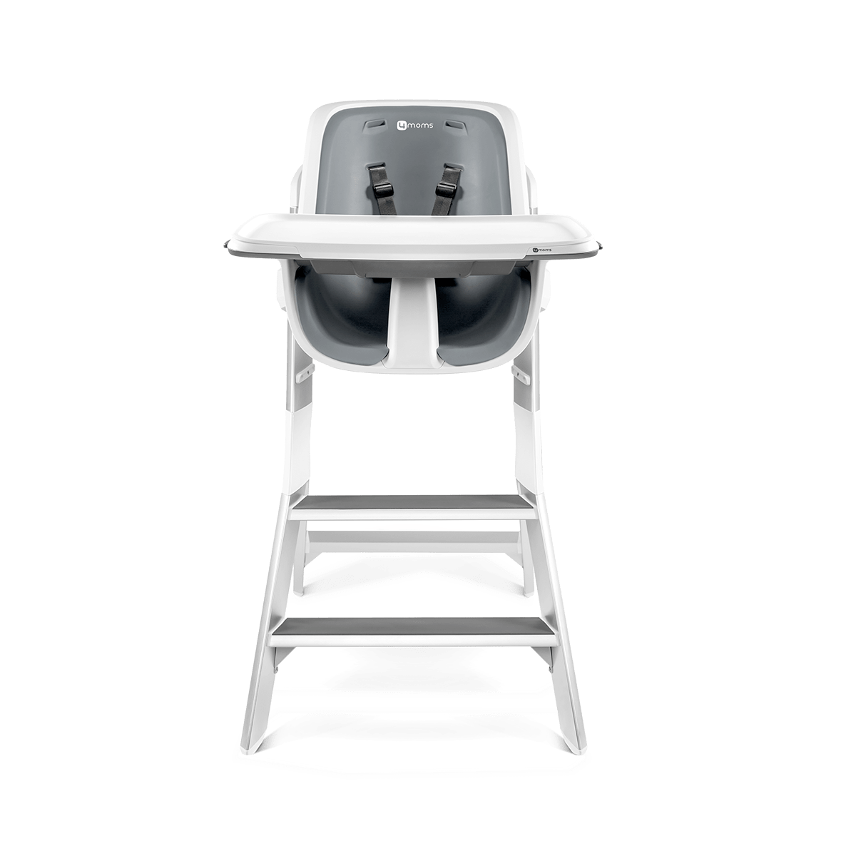 High Chair Tray 4moms High Chair White Gray