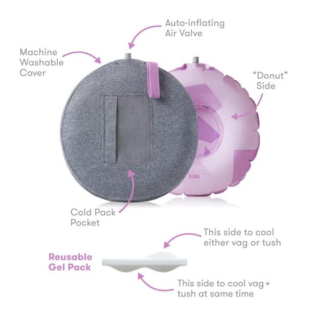 fridamom perineal cooling comfort cushion