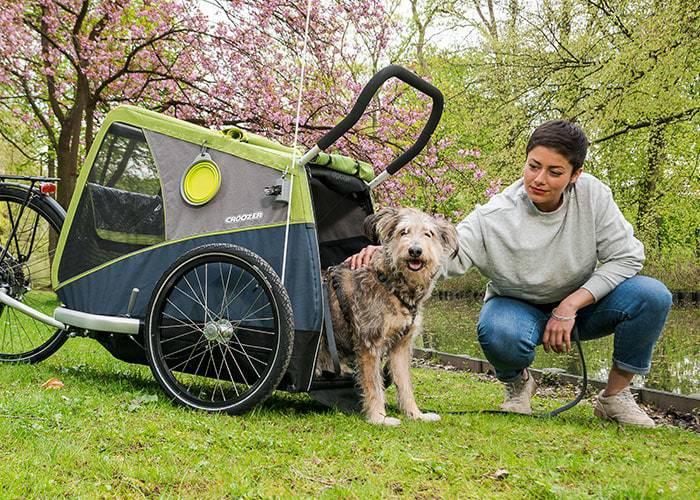 CROOZER Bruuno Dog XXL mit Welpenschutz | Hundeanhänger 2021 3