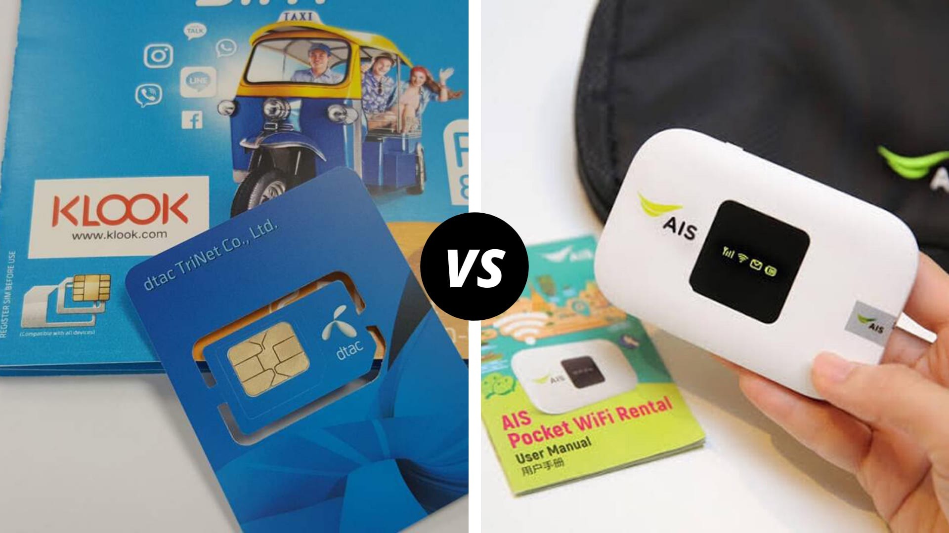 WiFi Portable vs SIM Card Lokal: Mana yang Lebih Baik untuk Internetan Saat Traveling ke Luar Negeri? - Klook Travel Blog