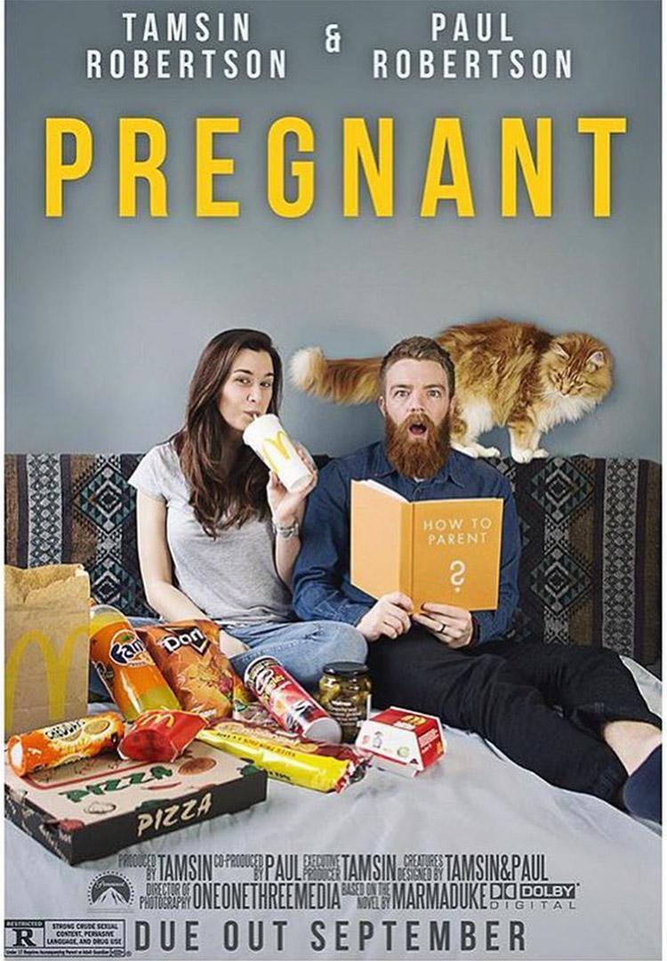 72 unique pregnancy announcement