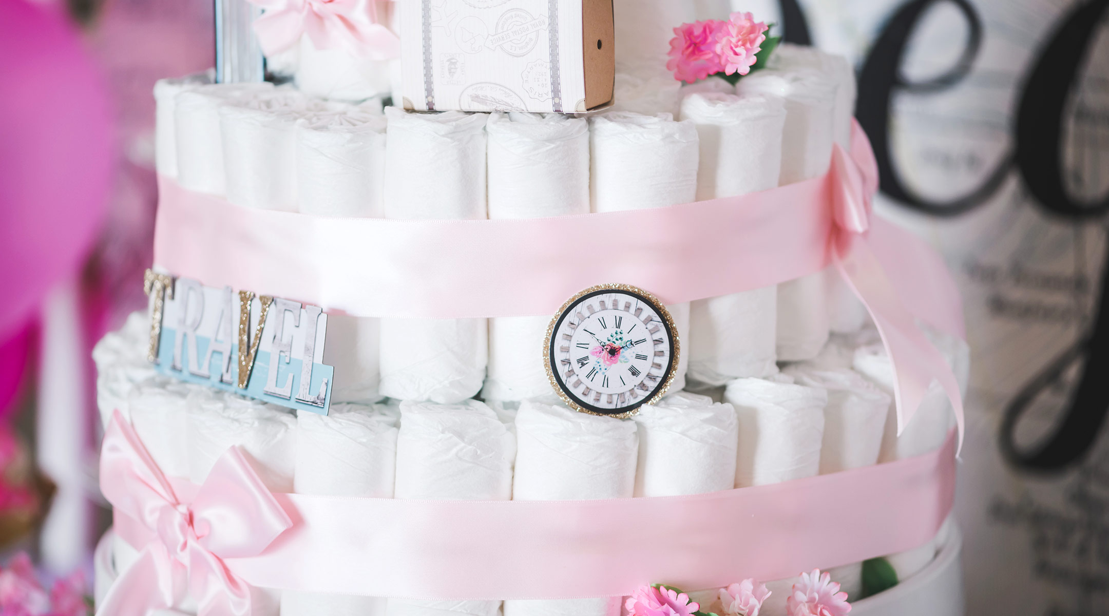 How To Make A Diaper Cake Plus 8 You Can Buy Online