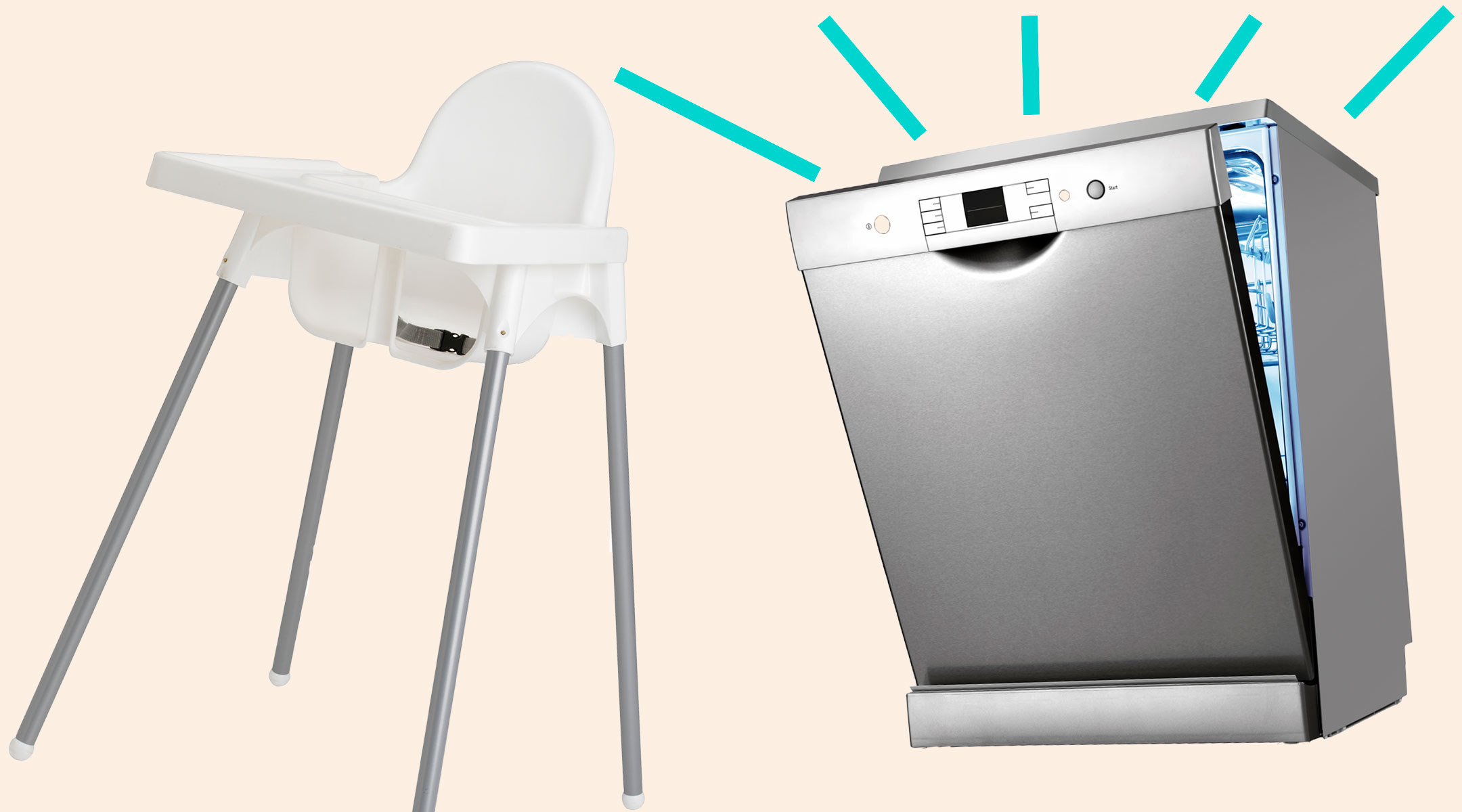 ikea high chairs relax the back chair for sale mom shares simple hack cleaning her