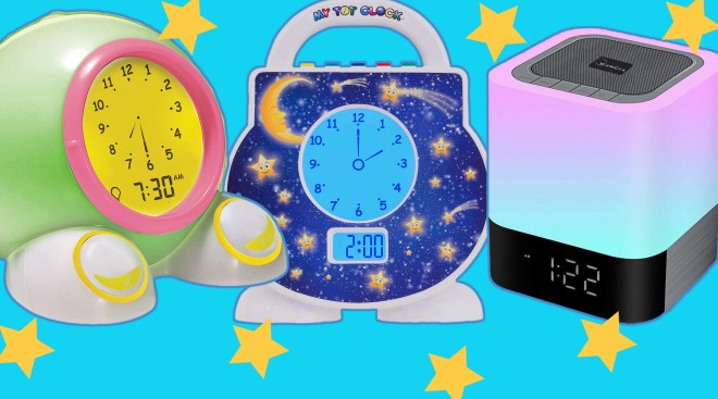 Best Alarm Clocks For Toddlers And Kids