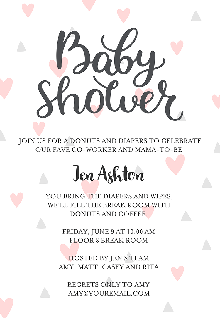 Baby Registry Greeting Ideas : registry, greeting, ideas, Shower, Invitation, Wording, Ideas