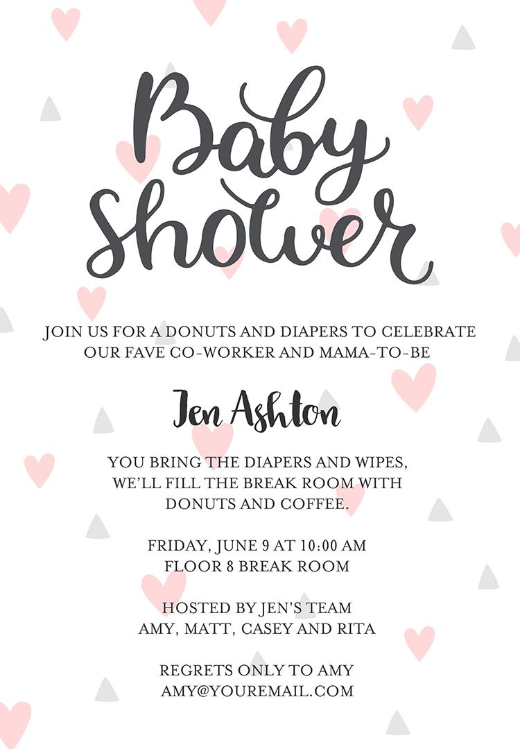 Diaper Shower Invitation Wording – 2