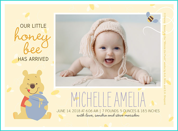 21 birth announcement ideas