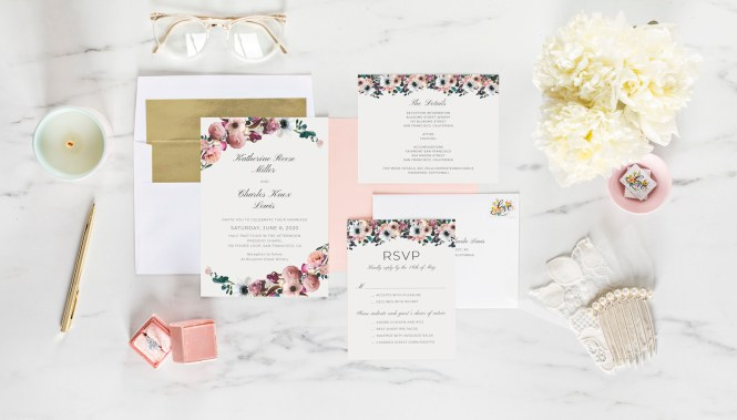 A Guide To Invitation Enclosure Cards Zola Expert Wedding