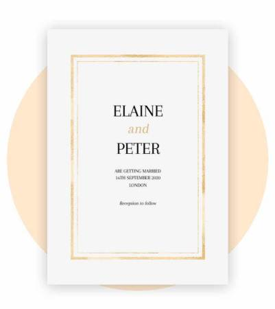 Wedding Invitations Uk Photo Invites Optimalprint