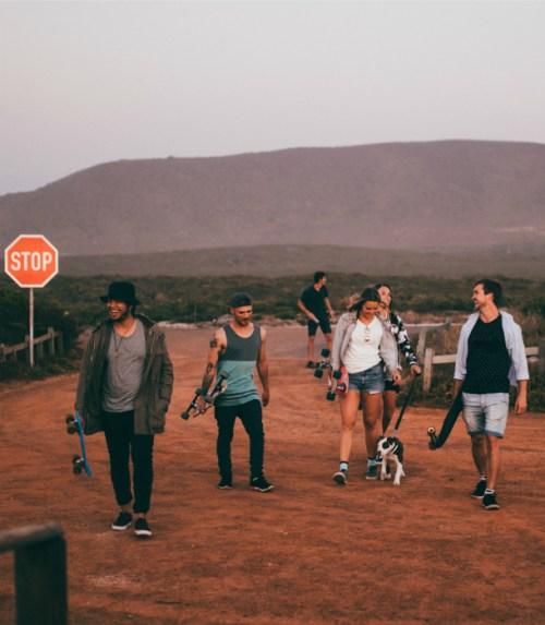 friends-walk-toward-parking-lot
