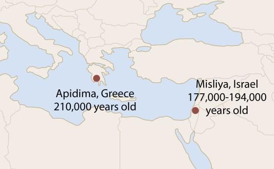 Earliest-Homo-Sapiens-Map