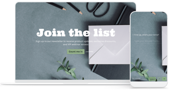 Newsletter signup form template widget for your websites makes your website or newsletter pages, subscribe pages looks cool blurred background. Free Newsletter Signup Form Template Get Started Now