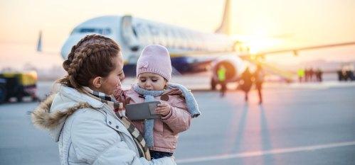 Passpod, Traveling naik Pesawat, Bayi di Pesawat