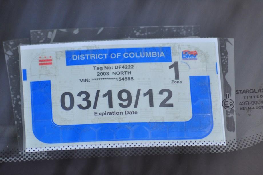 Inspección vehicular en Washington