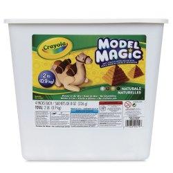 Crayola Model Magic Assorted Naturals 2 lb Bucket BLICK Art Materials