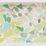 She Lines A Tray With Pretty Seaglass What It Becomes Gorgeous Littlethings Com