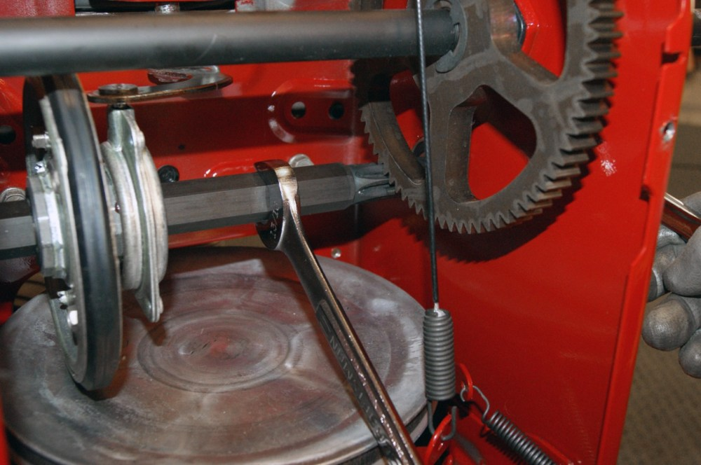 medium resolution of hold the hex shaft stationary