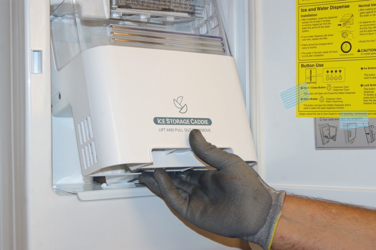 hight resolution of how to replace an in door ice maker on a french door refrigerator repair guide