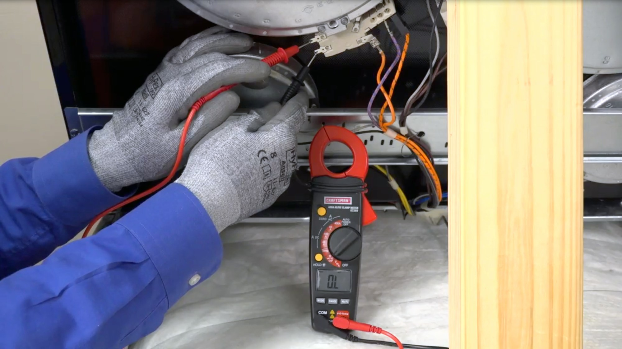 hight resolution of how to replace an oven temperature sensor on an electric range repair guide