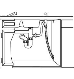 dishwasher plumbing diagram [ 1062 x 1062 Pixel ]