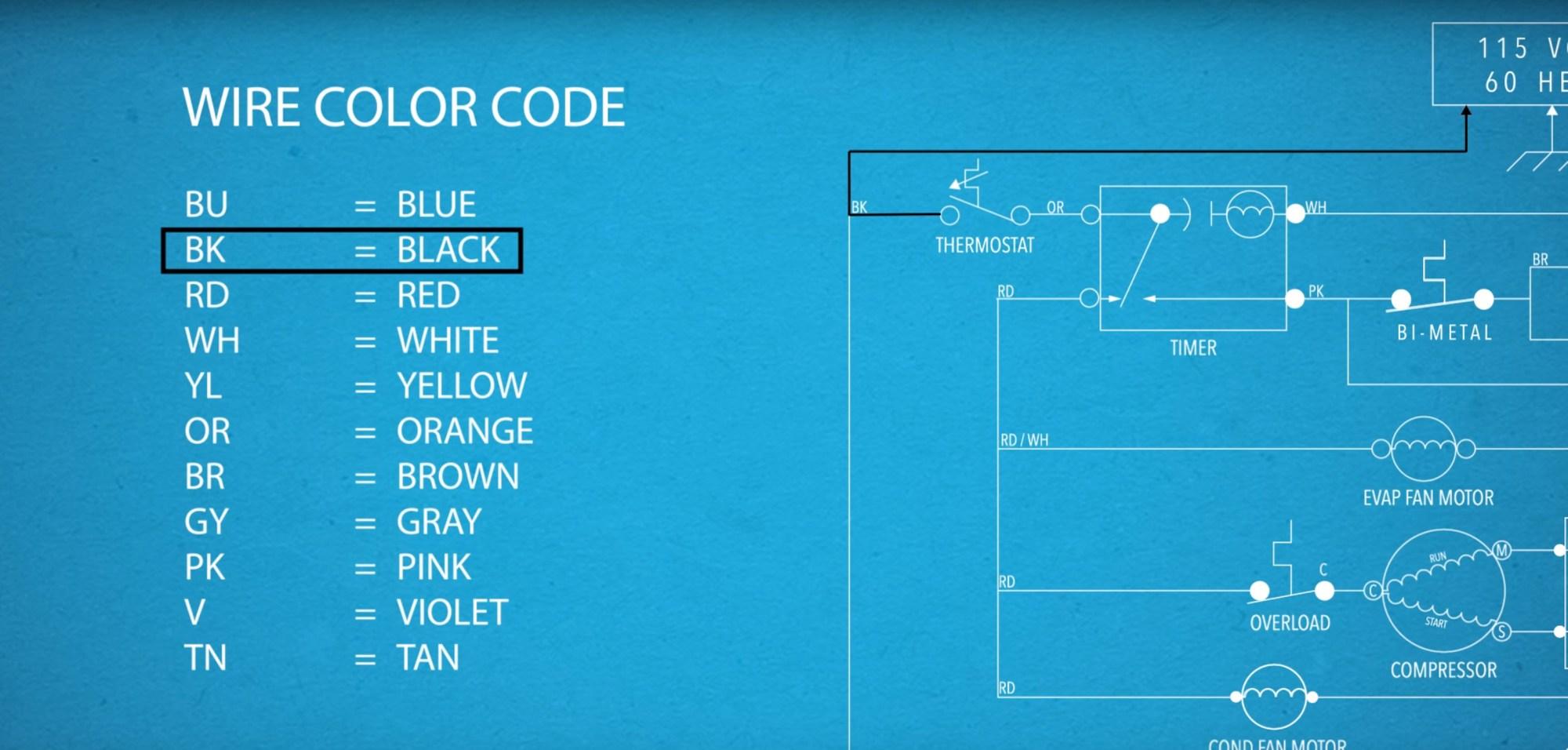 hight resolution of youtube freezer compressor wiring diagram