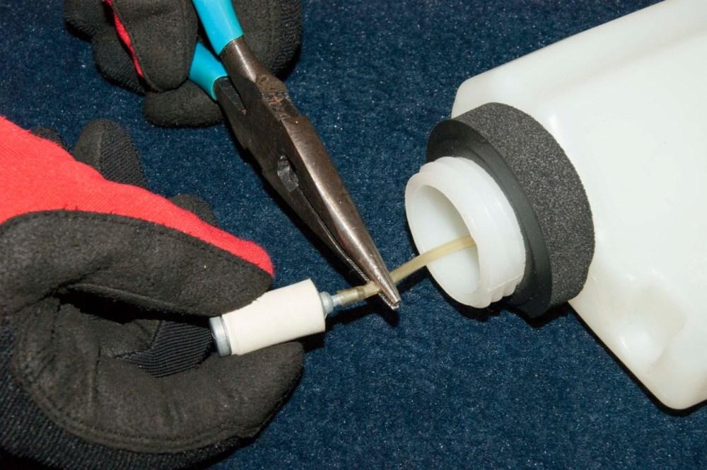 medium resolution of poulan blower fuel filter