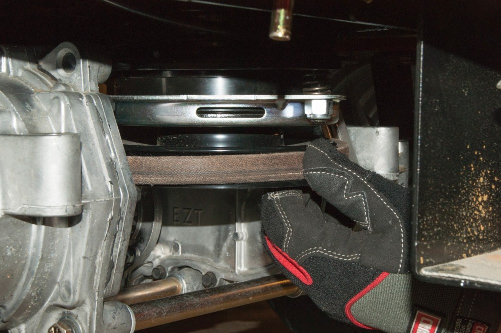 medium resolution of reinstall the belt on the electric clutch