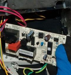remove the control board  [ 1280 x 845 Pixel ]