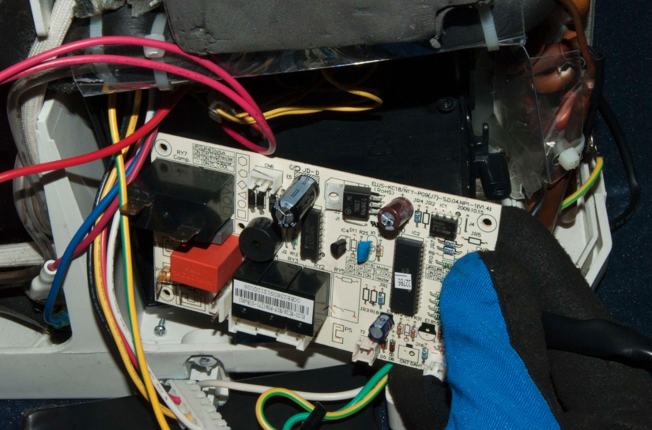 hight resolution of remove the control board