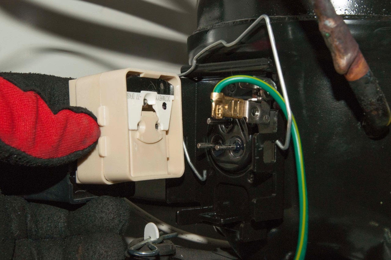 hight resolution of install the new relay