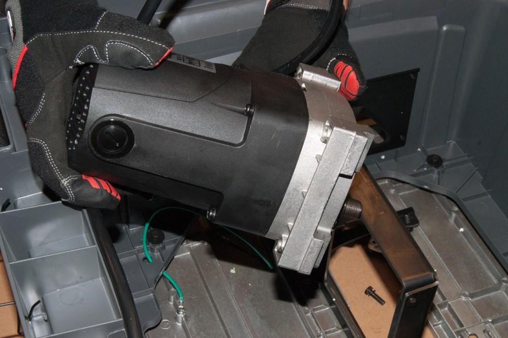 medium resolution of reinstall the motor