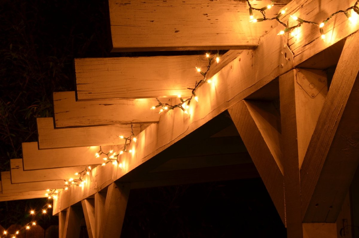 7 ideas for using christmas lights to