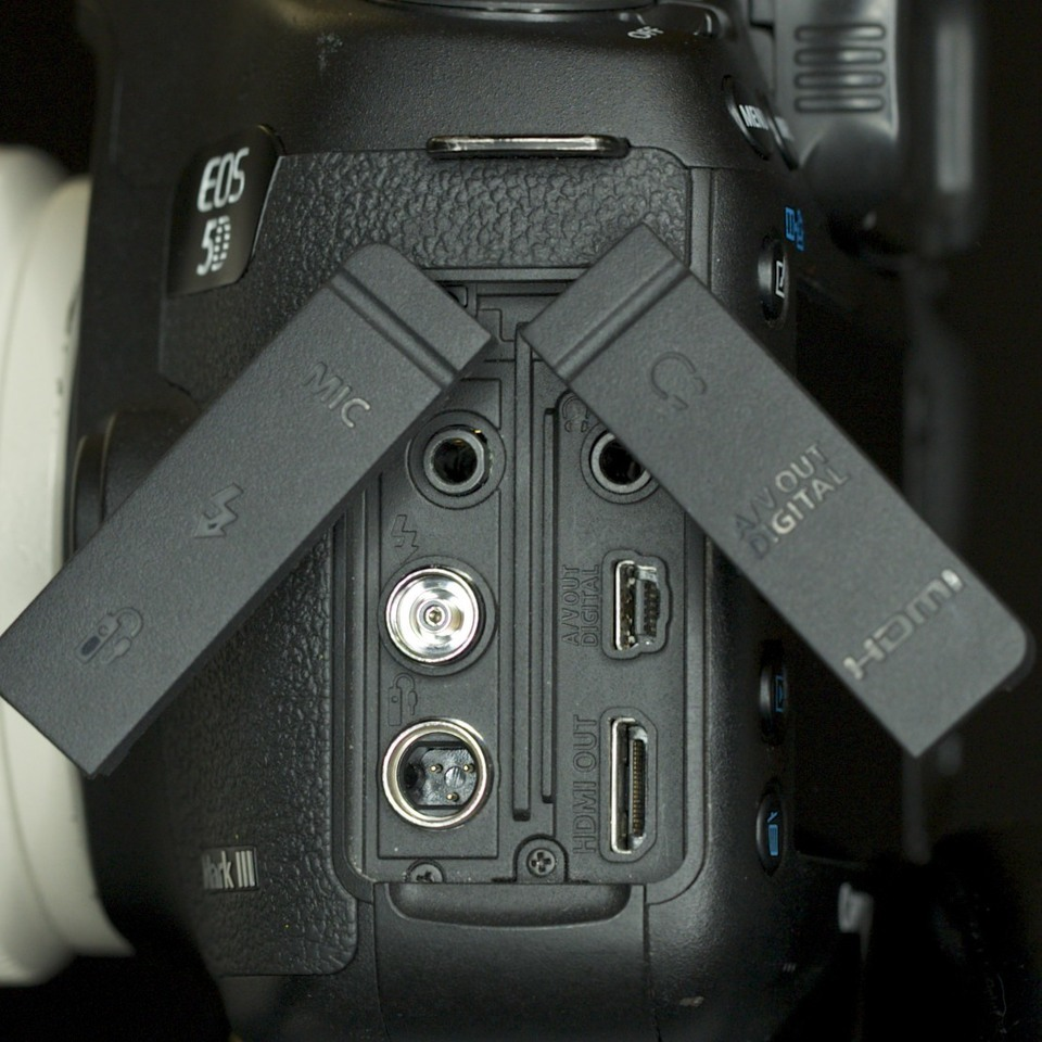 hight resolution of recording audio on other dslr cameras