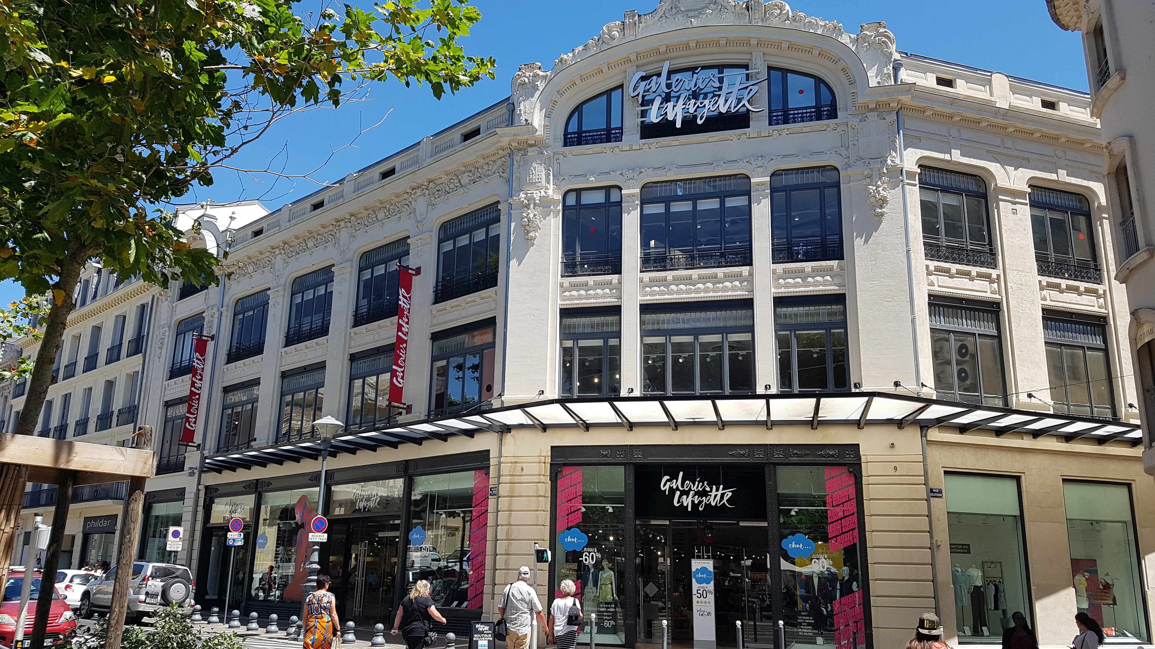 magasin galeries lafayette beziers